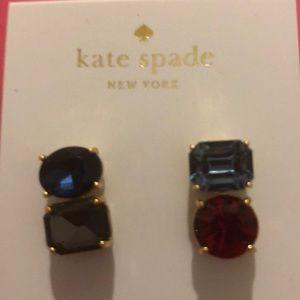 Kate Spade Asymmetrical Drop Earrings NWT